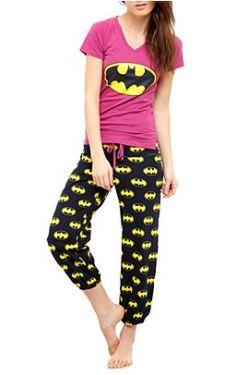 Pijama de Batgirl